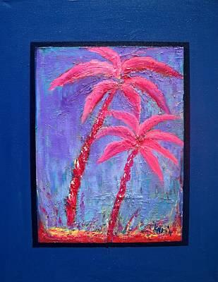 Palm Tree Series 14 Poster by Karin Eisermann