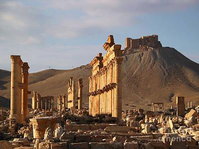 Palmyra Poster by Issam Hajjar