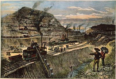 Panama: Culebra Cut, 1910 Poster