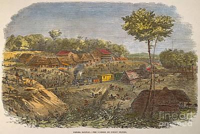 Panama: The Culebra, 1855 Poster