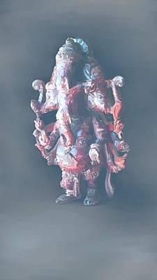 Panchamukha Ganesha 2 Poster by Usha Shantharam
