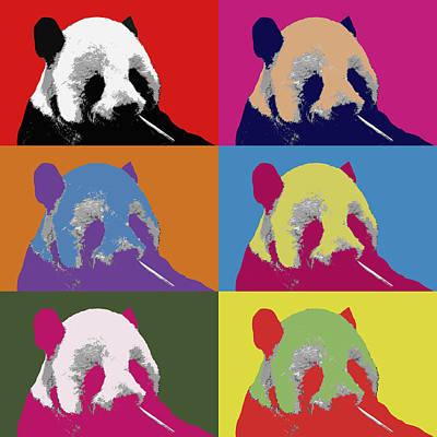 Panda Pop Art 2 Poster
