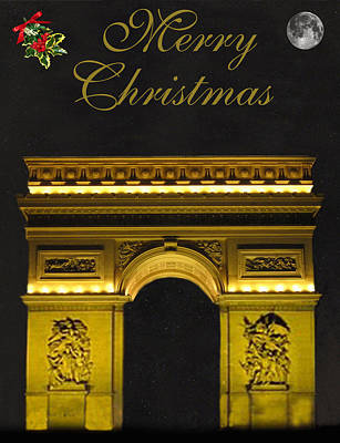 Paris Christmas Fashion  Poster by Eric Kempson