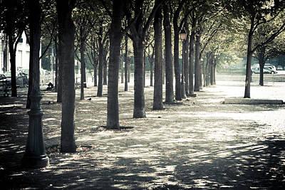 Paris Park Poster