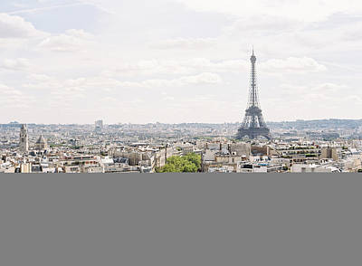 Paris Skyline Poster by Photographed by Victoria Phipps ©