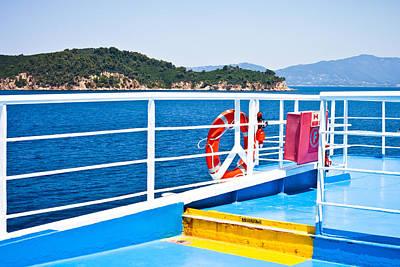 Passenger Ferry Poster