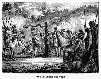 Passing Under The Yoke Poster by Granger