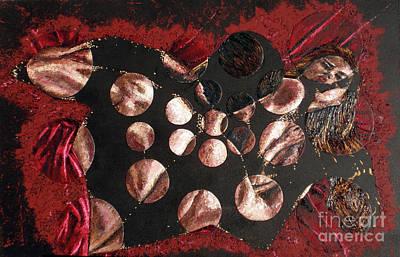 Passion Explosion I Poster by Tatjana Popovska