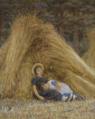 Past Work Poster by Helen Allingham