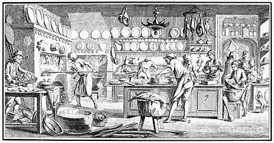Patisserie, 18th Century Poster by Granger