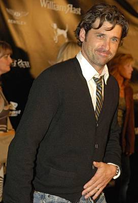 Patrick Dempsey At Arrivals For William Poster by Everett