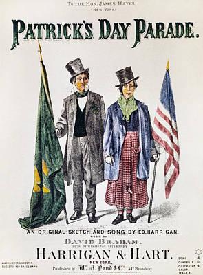 Patricks Day: Music, 1873 Poster by Granger