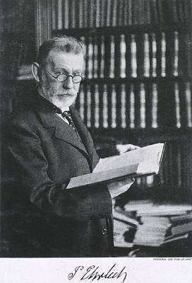 Paul Ehrlich 1854-1918, German Medical Poster by Everett