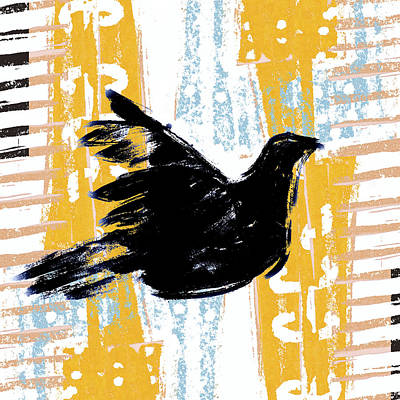 Peace Dove 1 Poster by Carol Leigh