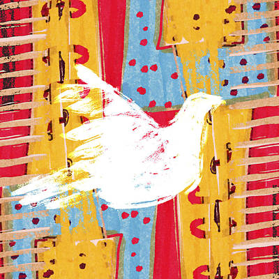 Peace Dove 2 Poster by Carol Leigh