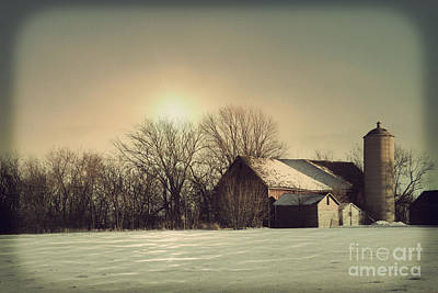 Peaceful Barn Poster by Joel Witmeyer