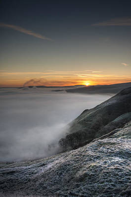 Peak District Sunrise Poster