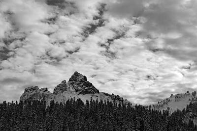 Peaks In The Tatoosh Range Poster by Twenty Two North Photography