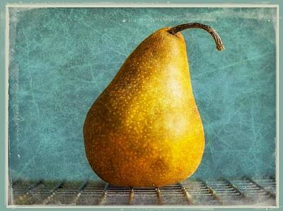 Pear Poster by Cathie Tyler