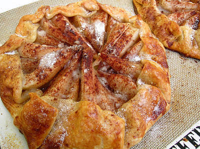 Pear Galette Poster