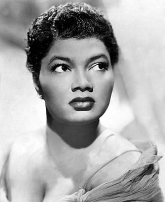Pearl Bailey, Portrait Ca. 1952 Poster by Everett
