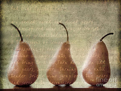 Pears To Be Poster by Linde Townsend