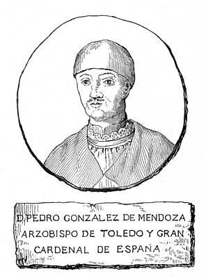 Pedro Gonzalez De Mendoza Poster