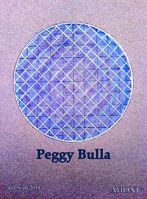 Peggy Bulla Poster by Ahonu
