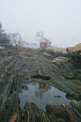 Pemaquid Reflection Poster by Mary Hershberger