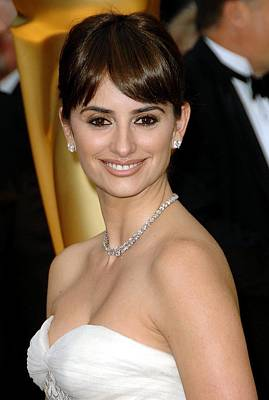 Penelope Cruz At Arrivals For 81st Poster by Everett