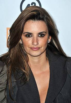 Penelope Cruz At Arrivals For The New Poster by Everett