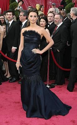 Penelope Cruz Wearing A Chanel Haute Poster