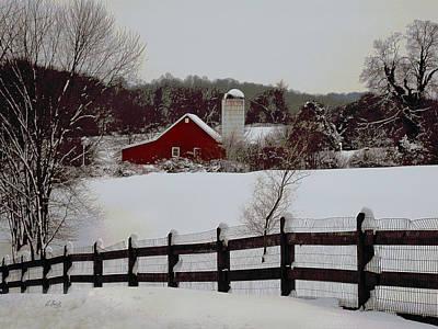 Pennsylvania Winter Poster by Gordon Beck