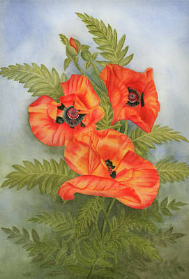 Penny's Poppies Poster