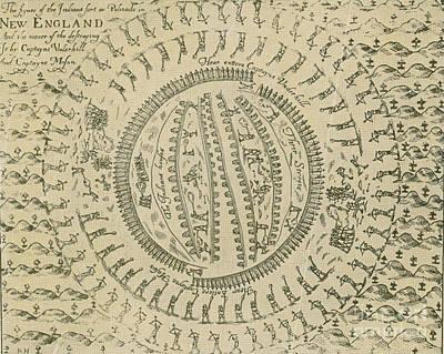 Pequot War Mystic Massacre 1637 Poster