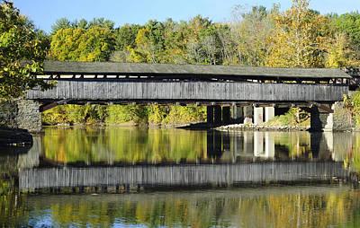 Perrine's Covered Bridge Poster by Luke Moore