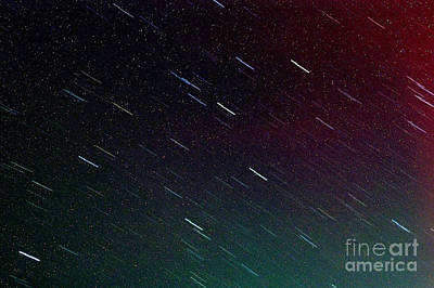 Perseid Meteor Shower Poster
