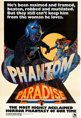 Phantom Of The Paradise, Poster, 1974 Poster