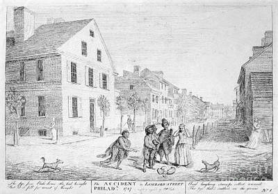 Philadelphia View, 1787 Poster by Granger