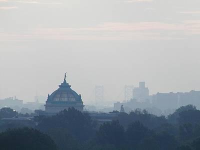 Philadelphia View  From Above The Mann Music Center Poster