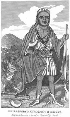 Philip (metacomet) (d.1676) Poster by Granger