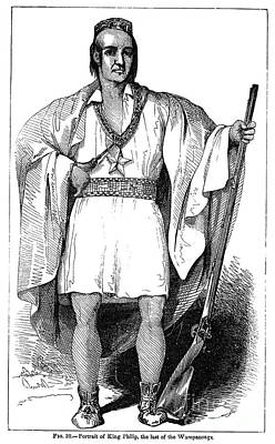 Philip (metacomet) Poster by Granger
