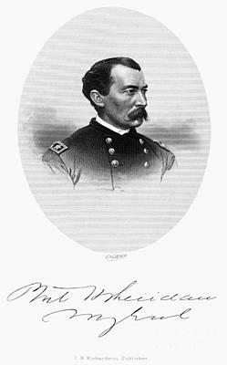 Philip Sheridan (1831-1888) Poster by Granger