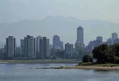 Photochemical Air Pollution Over Vancouver, Canada Poster by Kaj R. Svensson
