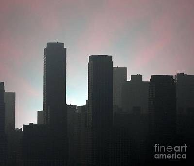 Photograph Of Manhattan In The Morning  Poster by Mario Perez