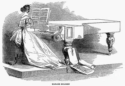 Pianist, 1844 Poster by Granger