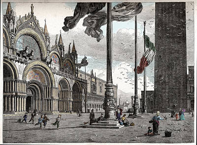 Piazza San Marco In Venice Poster