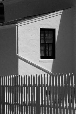 Picket Fence Next To The Lighthouse At Cabrillo National Monument Poster