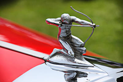 Piere-arrow Hood Ornament Poster by Garry Gay