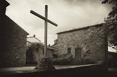 Poster featuring the photograph Pieve Di Santa Maria Alla Sovarra by Hugh Smith